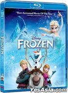 Frozen (2013) (Blu-ray) (Hong Kong Version)