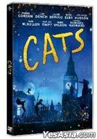 Cats (2019) (DVD) (Hong Kong Version)