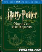 Harry Potter And The Order Of The Phoenix (2007) (Blu-ray) (2-Disc Steelbook Edition) (Hong Kong Version)