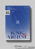 KNK Mini Album Vol. 3 - KNK AIRLINE (ON Version) + Poster in Tube (ON Version)