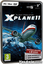 Flight Simulator X-Plane 11 (Mac/PC) (EU English Version) (DVD Version)
