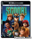 Scoob! (2020) (4K Ultra HD + Blu-ray) (Hong Kong Version)