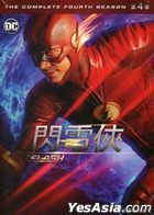 The Flash (DVD) (Ep. 1-23) (The Complete Fourth Season) (Taiwan Version)