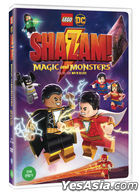 Lego DC: Shazam!: Magic and Monsters (DVD) (Korea Version)
