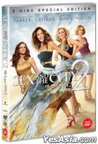 Sex and the City 2 (DVD) (2-Disc) (Special Edition) (Korea Version)