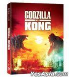 Godzilla vs. Kong (2021) (4K Ultra HD + Blu-ray) (Digibook) (Hong Kong Version)