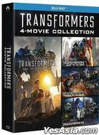 Transformers 4-Movie Collection (Blu-ray) (Hong Kong Version)