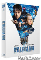 Valerian and the City of a Thousand Planets (Blu-ray) (Scanavo Full Slip Numbering Limited Edition) (Character Card + Postcard) (Korea Version)