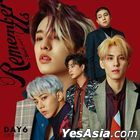 DAY6 Mini Album Vol. 4 - Remember Us : Youth Part 2 (Taiwan Version)