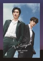 Wings  [PHOTOBOOK D&E Ver.]  (First Press Limited Edition) (Japan Version)