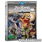 Zootopia (Blu-ray) (2D+3D) (2-Disc) (Korea Version)