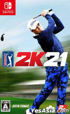 Golf PGA Tour 2K21 (Japan Version)