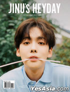 Jinu Single Album Vol. 1 - JINU's HEYDAY (SOFT Version) + Double-sided Poster in Tube