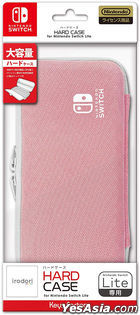 Nintendo Switch Lite HARD CASE (Pale Pink) (Japan Version)