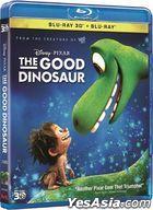 The Good Dinosaur (2015) (Blu-ray) (2D + 3D) (Hong Kong Version)