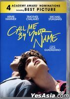 Call Me by Your Name (2017) (DVD) (Hong Kong Version)