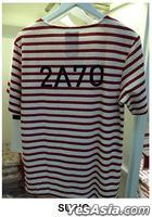 EXO - Stardium Playground Stripe T-Shirt (Su Ho / Red) (One Size)