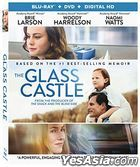 The Glass Castle (2017) (Blu-ray + DVD + Digital) (US Version)