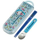 I'm Doraemon Cutlery Set (Chopsticks & Spoon)