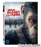 War for the Planet of the Apes (3D + 2D Blu-ray) (Slip Case Limited Edition) (Korea Version)