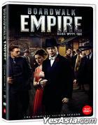 Boardwalk Empire (DVD) (The Complete Second Season) (Korea Version)