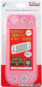 Nintendo Switch Premium Protect Cover (Clear Coral) (Japan Version)