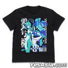Evangelion : Evangelion Unit 00 Acid Graphics T-shirt (Black) (Size:M)