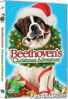 Beethoven's Christmas Adventure (2011) (DVD) (Hong Kong Version)
