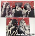 SMTOWN Pop-up Store - f(x) Red Light Clear File (Amber)