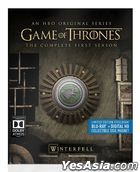 Game Of Thrones (Blu-ray + Digital HD) (Ep. 1-10) (The Complete First Season) (Steelbook) (US Version)