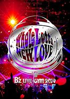 B'z LIVE-GYM 2019 -Whole Lotta NEW LOVE-  [BLU-RAY] (Japan Version)