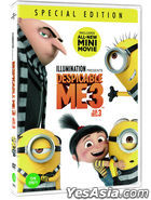 Despicable Me 3 (DVD) (Korea Version)
