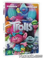 Trolls (DVD) (Korea Version)