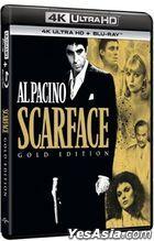 Scarface (1983) (4K Ultra HD + Blu-ray) (Hong Kong Version)
