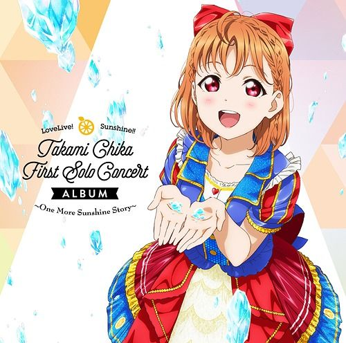 Yesasia Lovelive Sunshine Takami Chika First Solo Concert Album Japan Version Cd Aqours Lantis Japanese Music Free Shipping