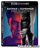 Batman v Superman: Dawn of Justice (2016) (4K Ultra HD Blu-ray) (UE Remastered Edition) (Hong Kong Version)