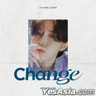 Kim Jae Hwan Mini Album Vol. 3 - Change (ed Version) + Poster in Tube (ed Version)