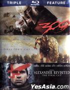 300 / Troy: Director's Cut / Alexander Revisited: The Final Cut (Blu-ray) (Triple Feature) (US Version)