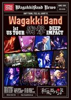 WagakkiBand 1st US Tour Shougeki DEEP IMPACT [BLU-RAY] (First Press Limited Edition)(Japan Version)