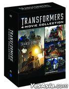 Transformers: 4-Movie Collection (4DVD) (Korea Version)