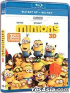 Minions (2015) (Blu-ray) (2D + 3D) (Hong Kong Version)