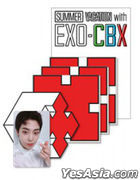 Summer Vacation With EXO-CBX Official Goods - Coaster Set (Xiu Min)