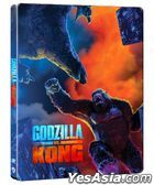 Godzilla vs. Kong (2021) (4K Ultra HD + Blu-ray) (Steelbook) (Hong Kong Version)