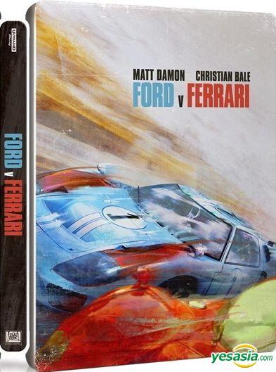 Yesasia Ford V Ferrari 2019 4k Ultra Hd Blu Ray Steelbook