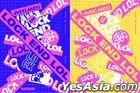 Weki Meki Single Album Vol. 2 - LOCK END LOL (Random Version) + Random Poster in Tube