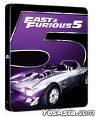 Fast & Furious 5 (Blu-ray) (Steelbook Limited Edition) (Korea Version)