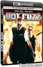Hot Fuzz (2007) (4K Ultra HD + Blu-ray) (Hong Kong Version)