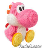 Wii U amiibo Amigurumi Yoshi Pink (Yoshi's Woolly World Series) (Japan Version)