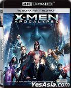 X-Men: Apocalypse (2016) (4k Ultra HD + Blu-ray) (Hong Kong Version)