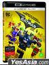 The LEGO Batman Movie (4K Ultra HD + 2D Blu-ray) (2-Disc) (Limited Edition) (Korea Version)